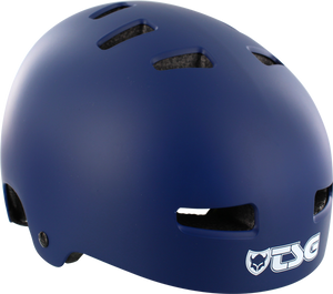 TSG EVOLUTION HELMET S/M-FLAT BLUE