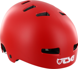 TSG EVOLUTION HELMET L/XL-FLAT RED