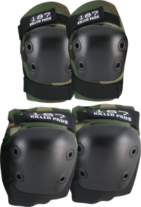 187 Killer Pads COMBO PACK KNEE/ELBOW PAD SET XS-CAMO