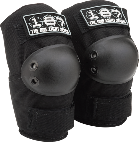 187 STANDARD ELBOW PADS XS-BLACK