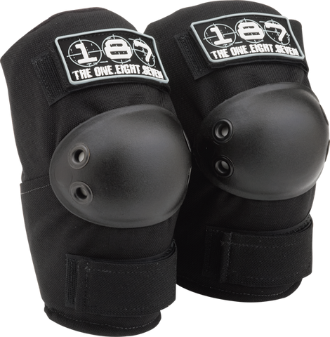 187 STANDARD ELBOW PADS XL-BLACK