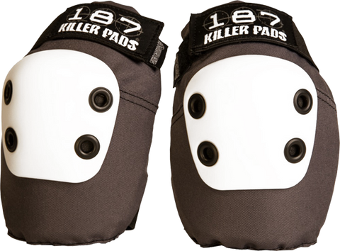 187 Killer Pads SLIM ELBOW PADS L-DARK GREY