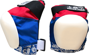187 Killer Pads PRO KNEE PADS JUNIOR-RED/WHT/BLU