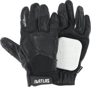 ATLAS TOUCH SLIDE GLOVE M/L BLACK