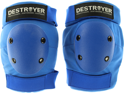 DESTROYER PRO ELBOW XS-BLUE