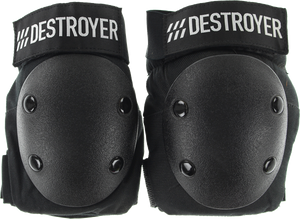 DESTROYER PRO ELBOW XS-BLACK/BLACK