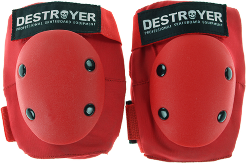 DESTROYER PRO ELBOW L-RED
