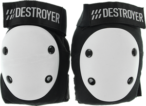DESTROYER PRO ELBOW XL-BLACK/WHITE