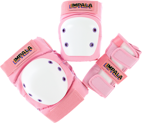IMPALA ADULT PROTECTIVE PACK PAD SET S-PINK