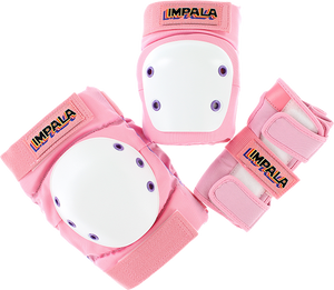IMPALA ADULT PROTECTIVE PACK PAD SET L-PINK