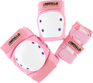 IMPALA KIDS PROTECTIVE PACK PAD SET JUNIOR M-PINK