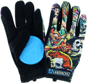 LANDYACHTZ COMIC SLIDE GLOVES XS