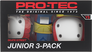 PROTEC JUNIOR 3 PACK BOX YS-RETRO knee/elbow/wrist