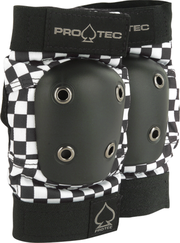 PROTEC STREET ELBOW M-CHECK BLK/WHT