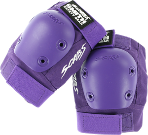 SMITH SAFETY GEAR SCABS-JR ELBOW PAD L/XL-PURPLE