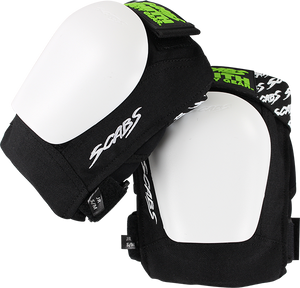 SMITH SAFETY GEAR SCABS-JR KNEE PADS S/M-BLK/WHT