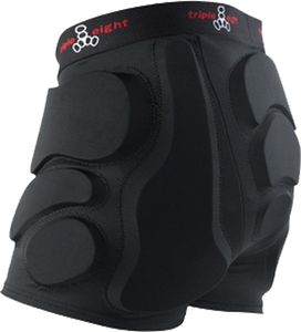 TRIPLE 8 ROLLER DERBY BUMSAVER XS-BLACK