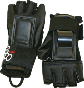 TRIPLE 8 HIRED HANDS GLOVES S-BLACK