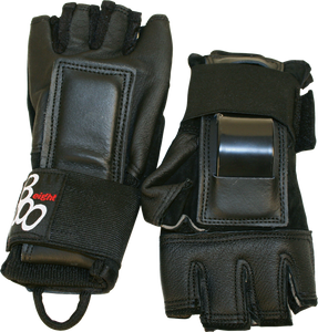 TRIPLE 8 HIRED HANDS GLOVES M-BLACK