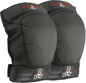 TRIPLE 8 D-TEC KNEE PAD S-BLACK