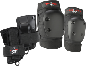 TRIPLE 8 DERBY 3/PK PADS-JR knee/elbow/wrist