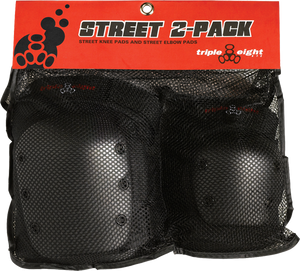TRIPLE 8 STREET 2/PACK JR BLACK