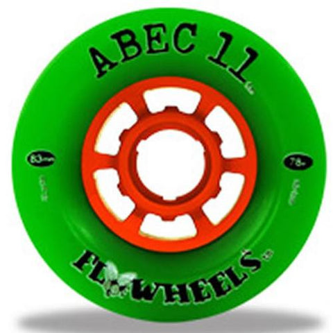 ABEC11 Longboard Wheels: Flywheels Classic 83mm 78a Wheels- Edge Boardshop