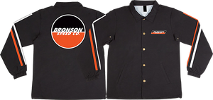 BRONSON SPEED CO. RACING STRIPES WINDBREAKER M-BLACK
