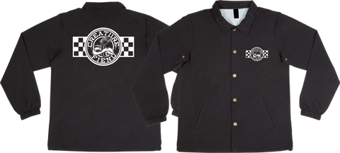 CREATURE STRIKE FAST COACH JACKET L-BLACK