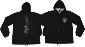 CREATURE TRENCH KNIFE HOODED WINDBREAKER S-BLK