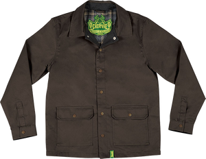 CREATURE WARDEN HUNTING JACKET S-BROWN