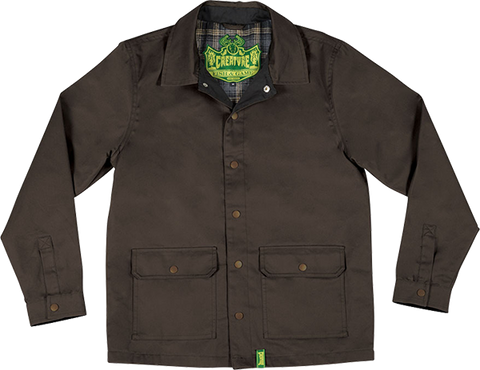 CREATURE WARDEN HUNTING JACKET M-BROWN