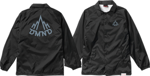 DIAMOND MOUNTAINEER COACHES JACKET S-BLK/CHARCOAL