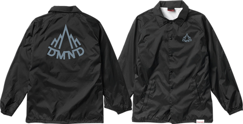 DIAMOND MOUNTAINEER COACHES JACKET XL-BLK/CHARCOAL
