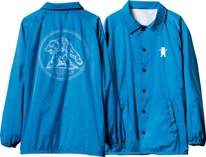 GRIZZLY ARENA COACHES JACKET M-ROYAL