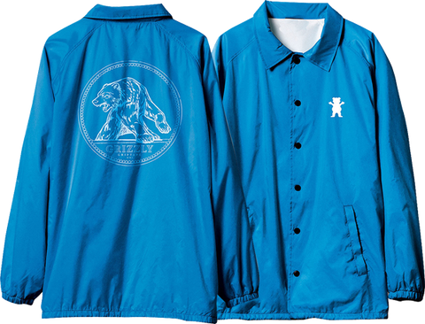 GRIZZLY ARENA COACHES JACKET XL-ROYAL