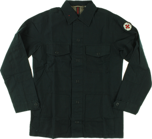 INDE FRICTION MILITARY JACKET M-MIDNIGHT NAVY
