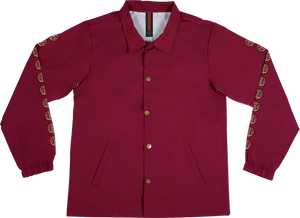 INDE QUATRO COACH WINDBREAKER S-CARDINAL RED