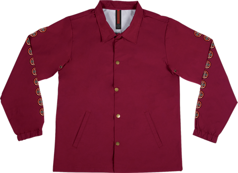 INDE QUATRO COACH WINDBREAKER XL-CARDINAL RED