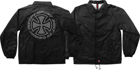 INDEPENDENT SPEED KILLS COACH WINDBREAKER L-BLACK