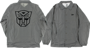 PRIMITIVE AUTOBOTS COACHES JACKET M-GREY