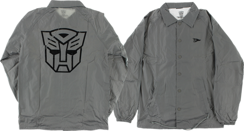 PRIMITIVE AUTOBOTS COACHES JACKET L-GREY