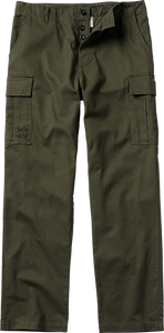 GHETTO WEAR CARGO PANTS 28-ARMY GREEN