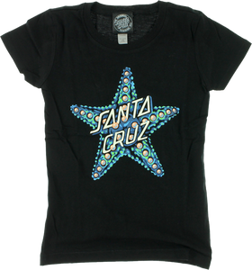 SC STARFISH FITTED GIRLS SS XS-BLACK