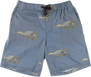ELE RIVER SHORTS S-BLUE