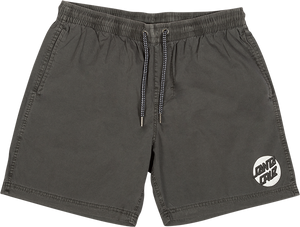 SANTA CRUZ MISSING DOT BEACH SHORTS S-OVERCAST GREY