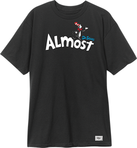 ALMOST SKATEBOARDS DR.ALMOST SS XL-BLACK