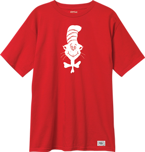 ALMOST SKATEBOARDS SIMPLE CAT SS XL-RED