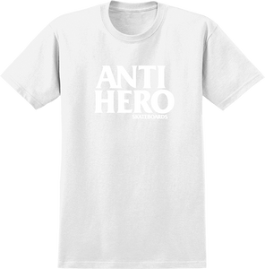 ANTI HERO BLACKHERO SS M-WHT/WHT