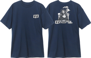 BLIND HERITAGE SMOKING JESUS SS M-NAVY